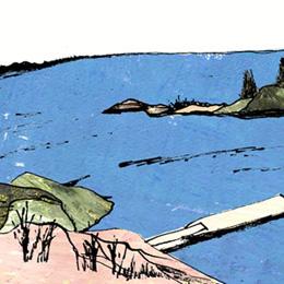 スオメンリンナ 海 フィンランド