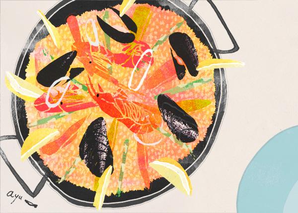 パエリア paella