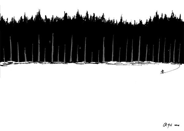静かな森 quiet forest